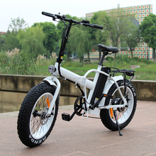 MOTORLIFE/OEM new model 20' fat tire folding e bike/48v 500w electric bicycle RSEB507