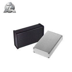69x24 gray black customized metal aluminum extrusion case box enclosure