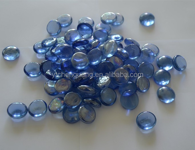 Blue Glass Stones Gifts&Crafts Cobbles&Pebbles Glass Stones