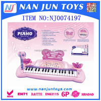 37 key multi-function electronic musical electronic piano with microphone toy for kids