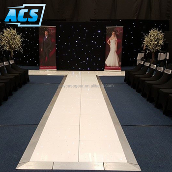 Wedding Party Waterproof white Led Starlit Dance Floor from ACS