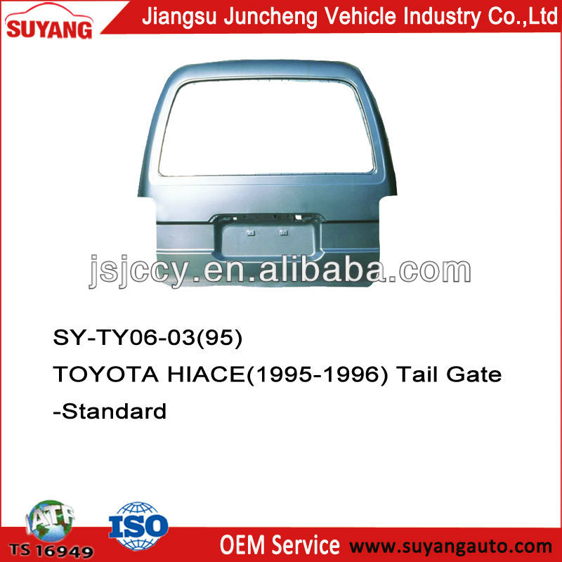 For Toyota Hiace Body Parts Back Door