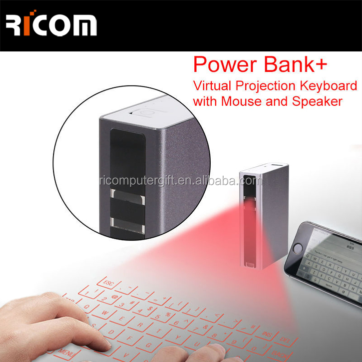 Virtual Wireless Keyboard with Trackball Mouse for Smartphone,Infrared Virtual Laser Keyboard for Sony--VK-002--Shenzhen Ricom
