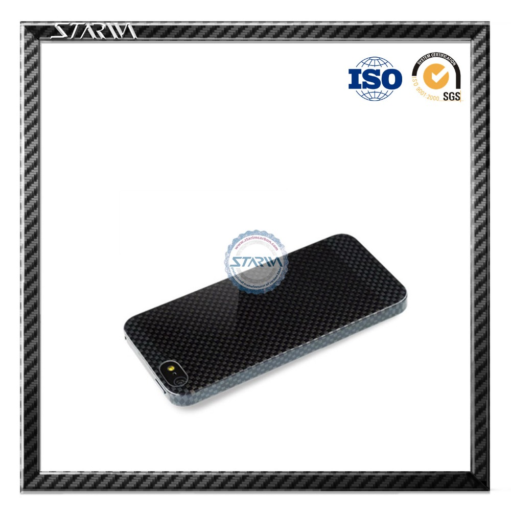 carbon fiber gift of mobile phones cover shield housing for girls mens boss high quility low price