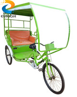 New style manpower pedicab rickshaw for passenger