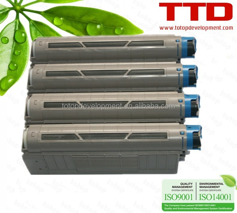 TTD Original Refurbish White Toner Cartridge for OKI C711WT Toner
