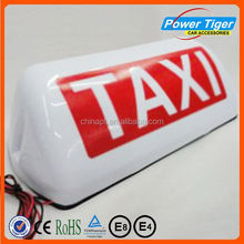 magnetic taxi light taxi roof signs for sale