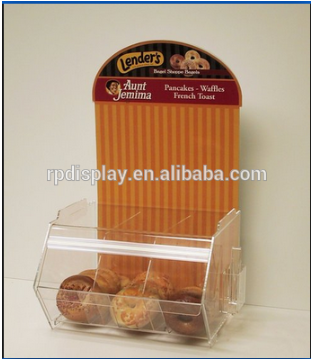 Countertop Acrylic Cookies/Donut Box Display Case
