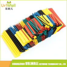328pcs 2:1 Polyolefin Assorted Heat Shrink Tube Wrap Wire Cable Insulated Sleeving Tubing Set