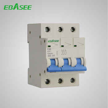 3 Pole Hot Sale Overload Protection MCB Plug-in Type Circuit Breaker