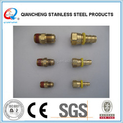 Fast Delivery hydraulic hose fitting brass hose nipple
