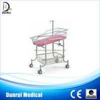 DR-310 CE Marked Hospital Powder Steel Hospital Baby Furniture Round Cribs
