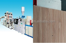 WPC (PP+Wood ) Sheet Extrusion Production Line for Car Interior