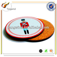 Novelty Promotional coaster sets with customized logo TWC0837