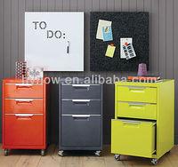 Walmart vendor 2/3/4 Drawer Mobile File Cabinet Document storage document cabinet