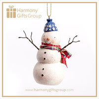 White Snowman Home Craft Decor Xmas Gift Items