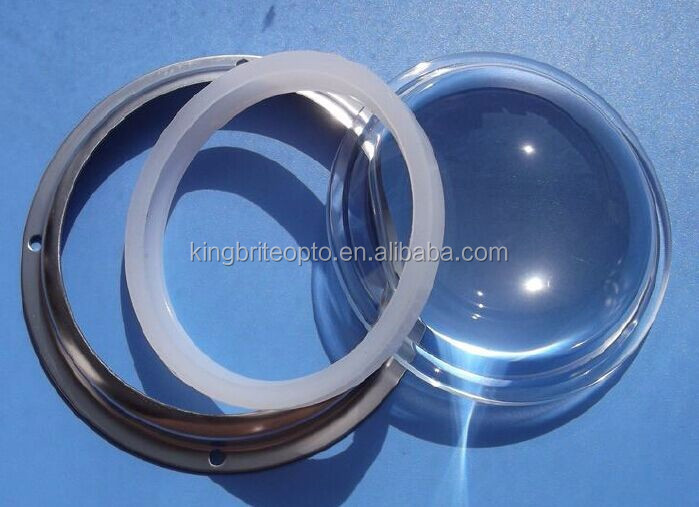 100mm glass lens 60degree for LED Highbay light 80-200W(KB-HB100-60)