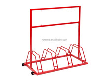 Bicycle rack bicycle parking stand with powder coating