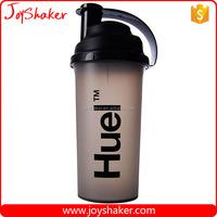 Black Promotional Custom Logo BPA Free 700ml Protein Shaker Bottle Walmart