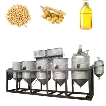 1-20t/day Soybean Oil Refining plant from china