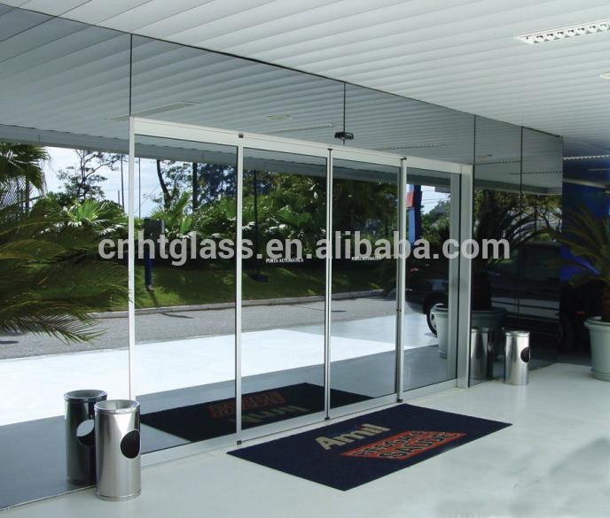 De alta calidad exterior interiores de vidrio templado for Puertas de interior de cristal precios