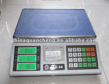 acs-30 digital price computing scale weighing scale with printer