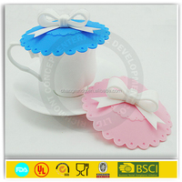 2015 Hot Selling Food Grade silicone rubber coffee cup lid and sleeve
