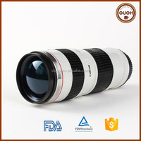 Novel Coffee Tumbler Cup Camera Lens Shaped Mug