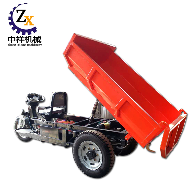 Battery operated single person electric transport vehicle