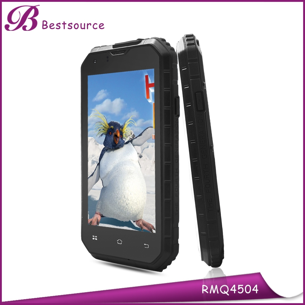 4.5inch Android 4.4 RAM 1GB ROM 8GB MTK6582 Quad Core 3G dual sim card wifi gps best rugged mobile phone india