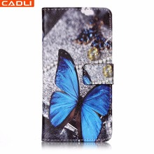 High Quality 2D Printing Wallet Cell Phone Case With Business Card Holder For Huawei P10