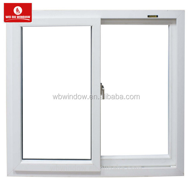 modern window designs Indian style pvc sliding windows for hot selling