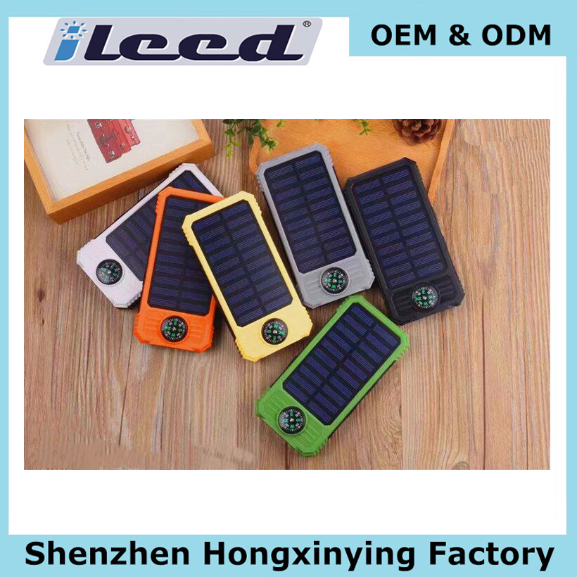 Shenzhen outdoor keychain cartoon rohs custom smart mobile credit card portable 4050mah battery charger power bank solar