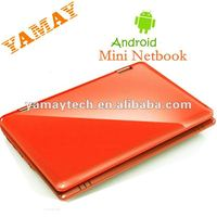VIA 8650 Colorful 7 inch android 2.2 wifi Cheapest mini netbook