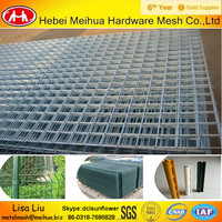Good quality galvanized welded wire fence panels/decorative welded wire fencing panels(Competitive price)