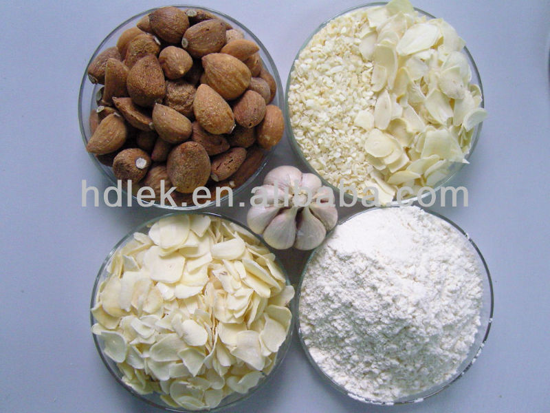 dried garlic products