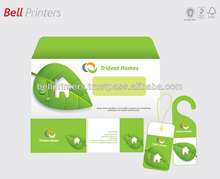 Stationery Business card letterhead office envelope printing from India
