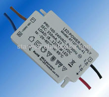high power factor 350ma constant current led driver 7w with CE ROHS GS Certificate