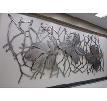 Home Decoration Stainless Steel Wall Art Sculpture