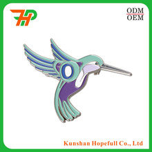 Professional Zinc Alloy embossed Metal Pins with soft enamel