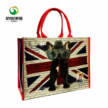 Wholesale supermarket shopping custom printing tote bags and purses