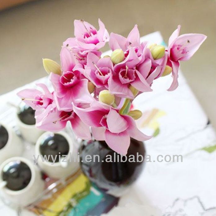 beautiful artificial pink daffodil&artificial flower