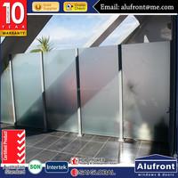 Australian AS2047 standard Balustrades aluminum and stainless steel handrail