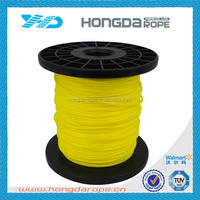 1.5mm yellow high strength PE braided fishing line
