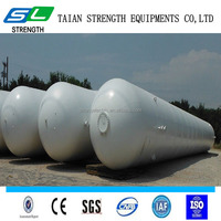 2016 high quality horizontal LPG storage tank with good price for sale from manufacturer