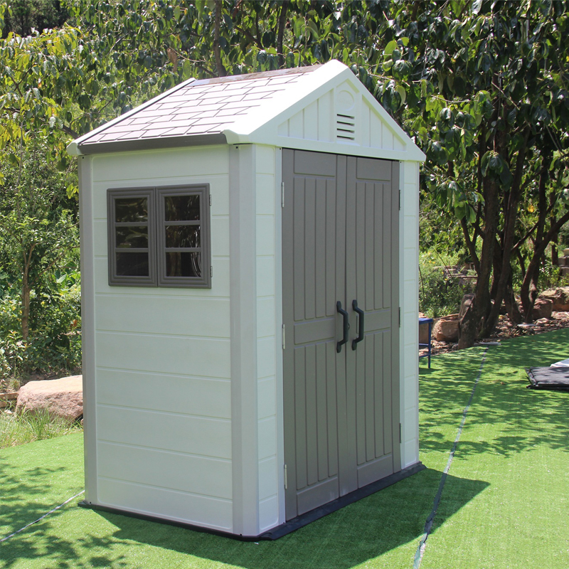 low cost container plastic removable garden storage tool design Modern diy mobile homes garden plastic shed storage