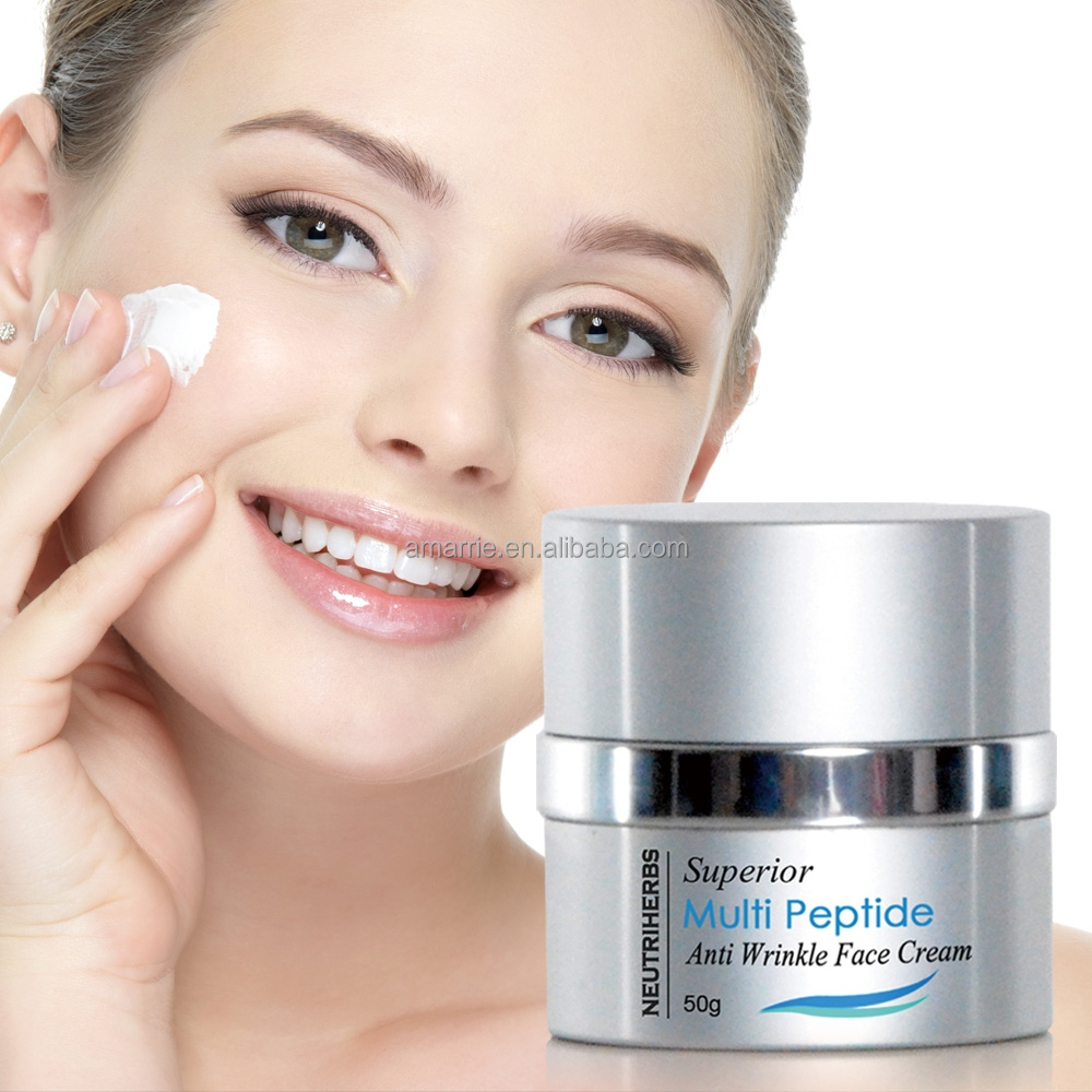 Top Quality Neutriherbs Brand Name Face Cream Superior Multi Peptide Facial Cream Beauty Products