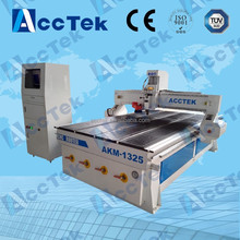 Acctek hot sale new model cnc router wood bed engraving/door/furniture 1325/1530/2030/2040