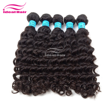Wholesale natural colour unprocessed virgin remy equal classic brazilian hair,cheap ebony hair products