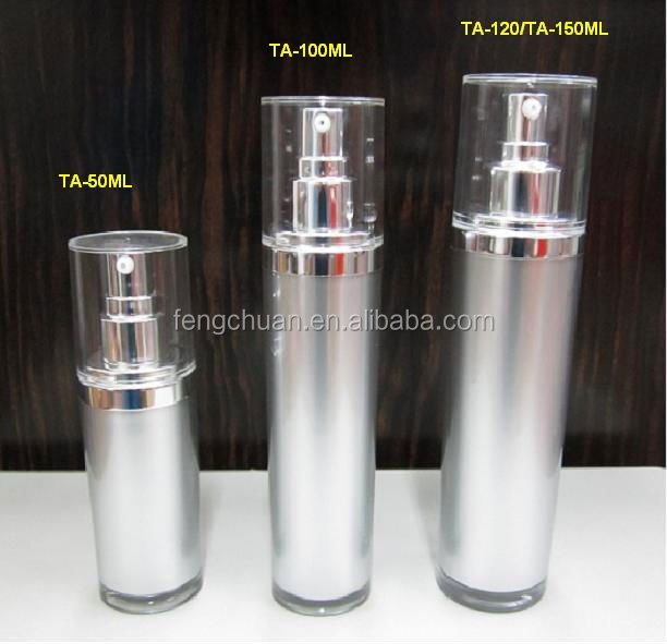 15ml airless pump bottle 100ml pump airless cosmetic bottle cream jar mockup